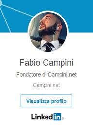 Fabio Campini profilo linkedin